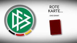 DFB-Sportgericht: Das passiert nach einer Roten Karte