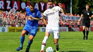 Highlights: 1.CfR Pforzheim vs. Bayer 04 Leverkusen