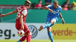DFB Cup Men: 1. FC Kaiserslautern vs. TSG Hoffenheim