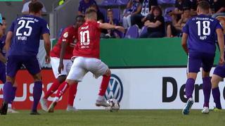 DFB Cup Men: Erzgebirge Aue vs. 1. FSV Mainz 05