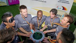 Rekordmeister MTV Stuttgart holt sechsten Titel im Blindenfußball