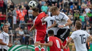 U 19-Junioren  verpassen Sieg gegen die Schweiz