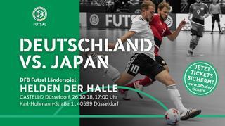 Futsal-Nationalteam testet gegen Japan: Jetzt Tickets sichern