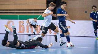 Futsal-Nationalmannschaft unterliegt Japan 0:2
