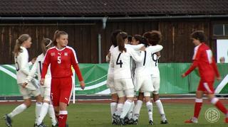 U 15 feiert Kantersieg gegen die Schweiz