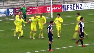 Regionalliga West: Alle Tore vom 19. Spieltag