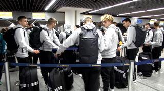 Ankunft der U 18-Junioren in Israel