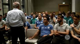 U 18-Junioren: Emotionales Zeitzeugengespräch in Israel