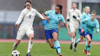 U 17-Juniorinnen: 0:2 gegen Niederlande zum Jahresabschluss