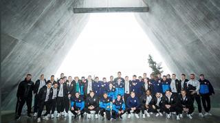 U 18 besucht Gedenkstätte Yad Vashem