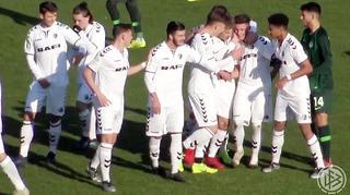 DFB-Junioren-Vereinspokal: Highlights der Viertelfinale