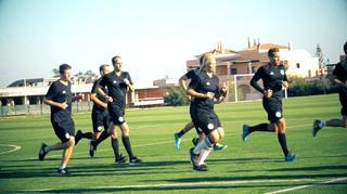 DFB-Schiedsrichter: Ankunft und erste Impressionen aus Portugal
