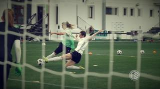 Zweikampftraining bei den DFB-Frauen