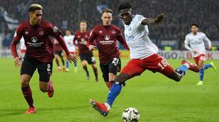 DFB Cup Men: Hamburger SV vs 1. FC Nürnberg