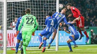 DFB Cup Men: Hertha BSC Berlin vs Bayern München