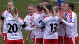 Highlights:  TSG Hoffenheim  vs.1. FFC Frankfurt