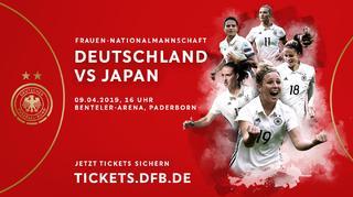 Deutschland vs. Japan: Jetzt Tickets sichern!