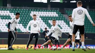 Abschlusstraining in Wolfsburg