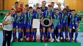 Hertha BSC gewinnt DM bei den C-Junioren