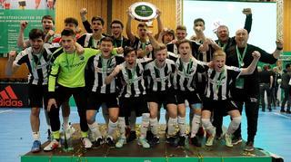 Erstmals Titelträger bei den B-Junioren: der SV Sandhausen
