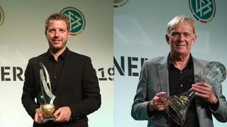 Trainerpreis: Volker Finke und Florian Kohfeldt geehrt