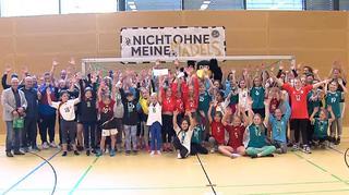 U 19-Frauen besuchen Eigenherd-Schule Kleinmachnow