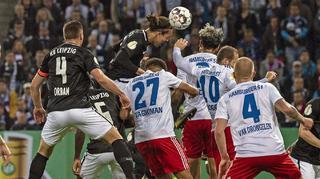 DFB-Cup Men: Hamburger SV vs RB Leipzig