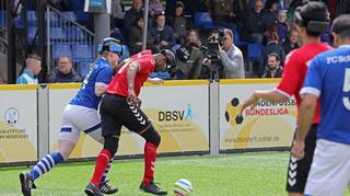 Blindenfußball-Bundesliga: Erfolgreicher Auftakt in Stolberg