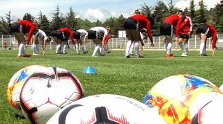 U 17-Juniorinnen vor dem EM-Halbfinale