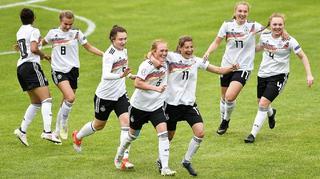 2:0 gegen Portugal: Die U 17-Juniorinnen im EM-Finale