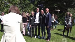 Huth, Popp und Draxler besuchen Deutsche Botschaft in Paris