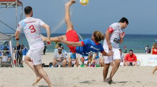Saisonauftakt der deutschen Beachsoccer-Liga