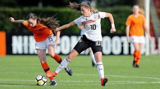 U 15-Juniorinnen unterliegen Niederlande