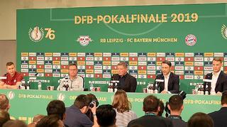 Highlights der Pressekonferenz zum DFB-Pokalfinale