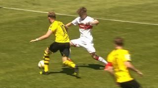 Highlights: A-Junioren-Bundesliga: VfB Stuttgart vs. Borussia Dortmund