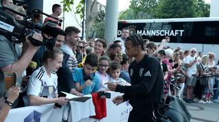 Leroy Sané Ankunft in Mainz