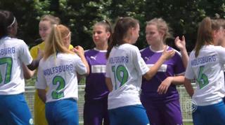 B-Juniorinnen-Bundesliga Halbfinal-Rückspiel : SGS Essen vs. VfL Wolfsburg