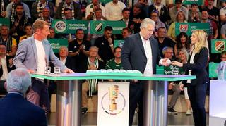 Die Auslosung der 1. DFB-Pokalrunde