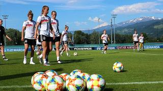 Trainingsimpressionen in Grenoble