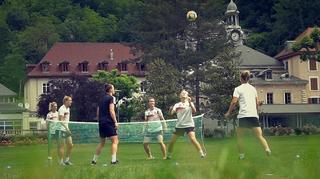 Training im Park