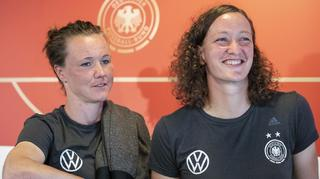 Highlights der PK mit Marina Hegering und Almuth Schult