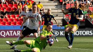 1:2 gegen Schweden: Aus im Viertelfinale
