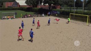Deutsche Beachsoccer-Liga: 4. Spieltagsevent in Hamburg
