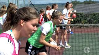 U 19-Frauen: Der Tagesablauf vorm Belgienspiel
