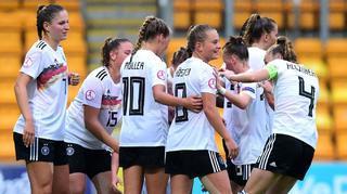 5:0 gegen Belgien: U 19-Frauen im Halbfinale
