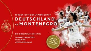 EM-Quali: Die DFB-Frauen gegen Montenegro in Kassel