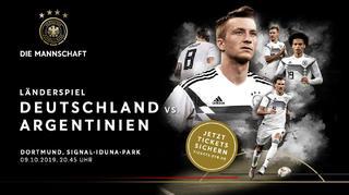 Die Mannschaft: Tickets für Klassiker gegen Argentinien