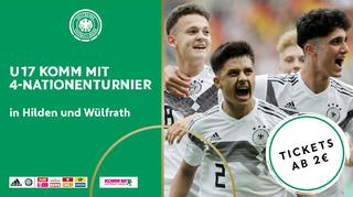 U 17-Turnier: Tickets ab zwei Euro