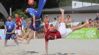 Deutsche Beachsoccer-Liga: 5. Spieltagsevent in Düsseldorf