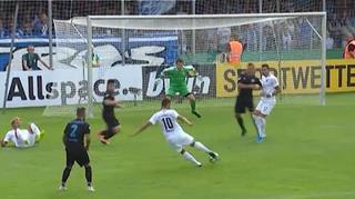 DFB Cup Men: Wacker Nordhausen vs. Erzgebirge Aue